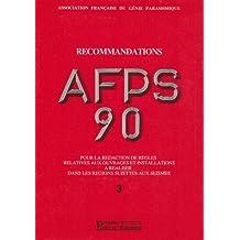 RECOMMANDATIONS AFPS 90 VOL.3 POUR RÉDACTION DE ..