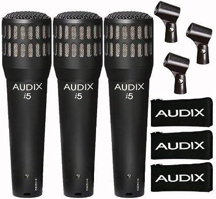 Audix i-5 Dynamisches Mikrofon f/ür Instrumente