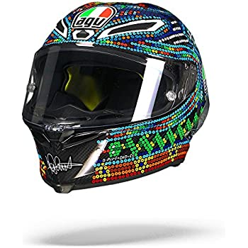 AGV Pista GP-R Valentino Rossi 2018 Winter Test Limited Edition Motorcycle Helmet Medium Small