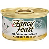 Purina 6 cans of fancy feast Marinated morsel 3oz ea