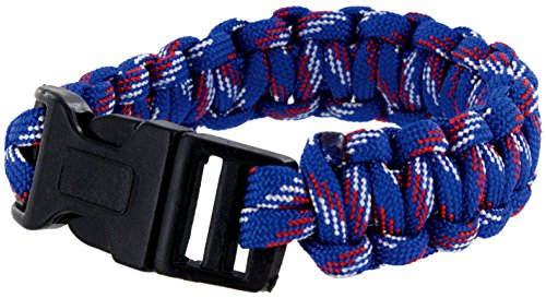 USA-colored Paracord Bracelet Patriot Pride Wristband -The Sprit of a Nation (Blue)