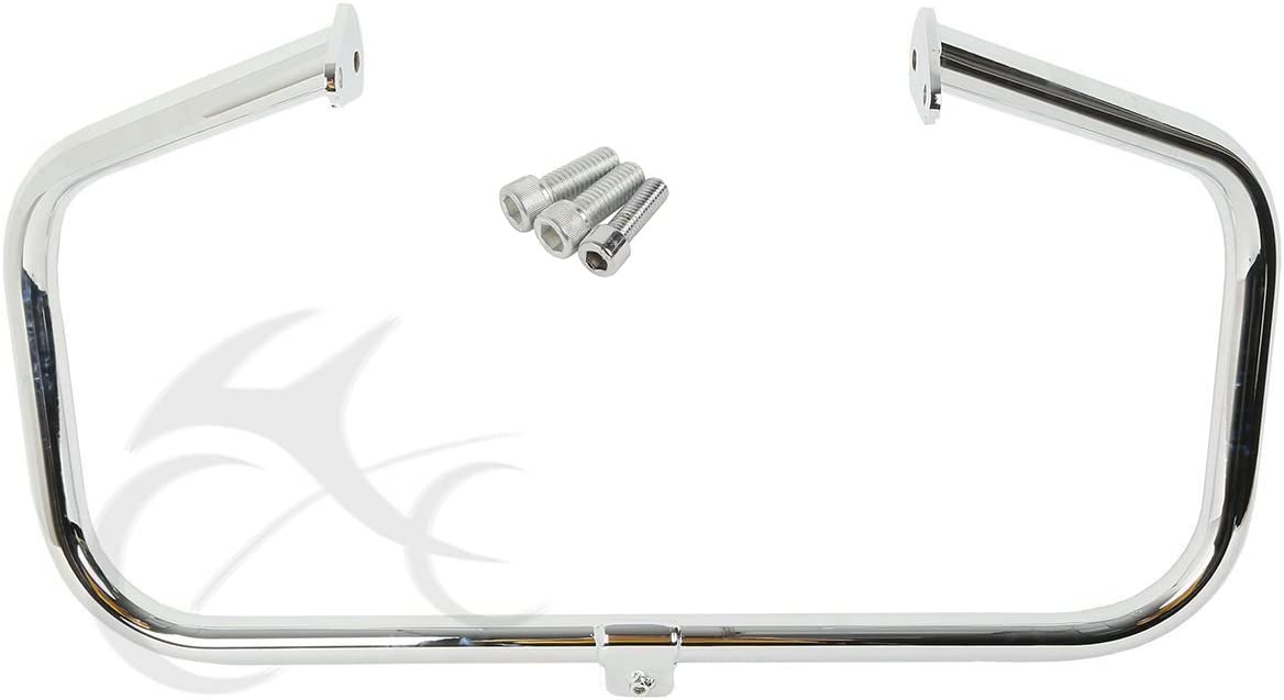 SLMOTO Chrome Engine Guard Highway Crash Bar Fit for Harley Electra Glide Road King 97-08