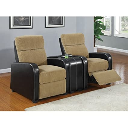 Pleasing Coaster Orya Two Tone Recliner Chair Gmtry Best Dining Table And Chair Ideas Images Gmtryco