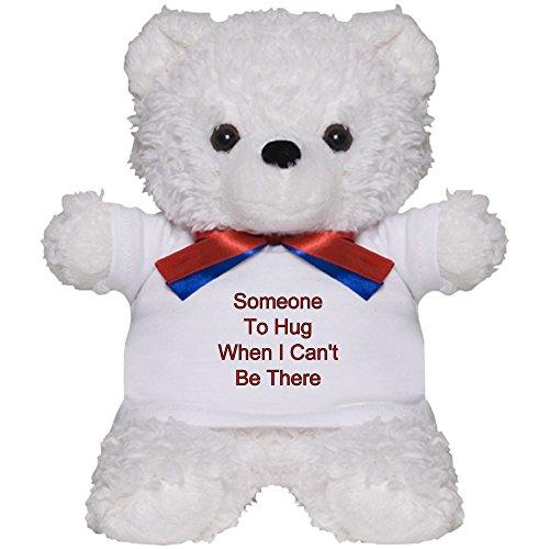 CafePress - Missing You - Teddy Bear, Plush Stuffed - Teddy Personalized Bear Dream