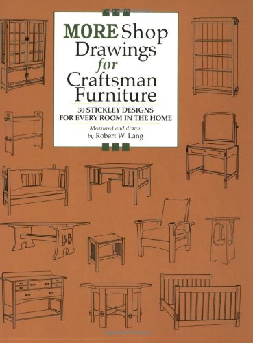 Used, More Shop Drawings for Craftsman Furniture: 30 Stickley for sale  Delivered anywhere in USA