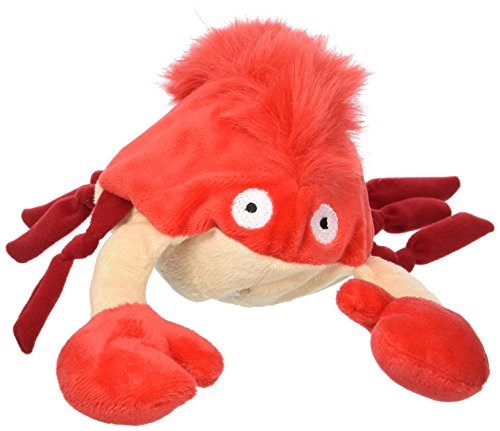 Hyper Pet Doggie Pal Crab Plush Interactive Dog Toy by Hyper Pet