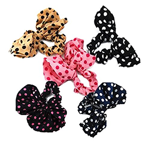 yueton Ponytail Elastic Headdress Headwear