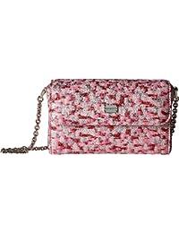 Kids Womens Pink Jacquard Bag