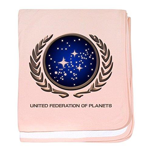 - CafePress - Star Trek UFP Insignia - Baby Blanket, Super Soft Newborn Swaddle