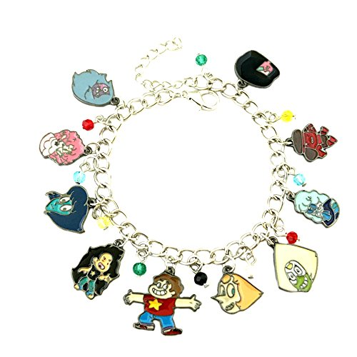 Athena Brand Stevens Universe Charm Bracelet Quality Cosplay Jewelry Cartoon Movie Series with Gift Box