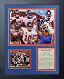 """Legends Never Die """"2011 New York Giants Super Bowl Champions"""" Framed Photo Collage, 11 x 14-Inch"""