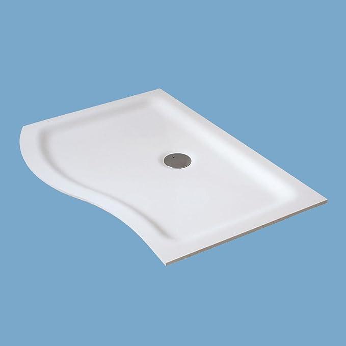 Plato de ducha (Methacrylate o stonecril en Composite con sifón extra plana Open Sway: Amazon.es: Bricolaje y herramientas