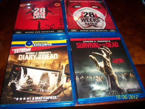 28 Days Later, 28 Weeks Later, Diary of the Dead, Survival of the Dead