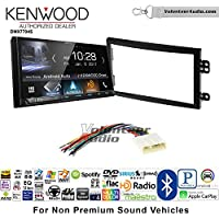 Volunteer Audio Kenwood DMX7704S Double Din Radio Install Kit with Apple CarPlay Android Auto Bluetooth Fits 2003-2005 Nissan 350Z (Without Bose)