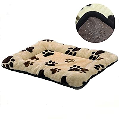 "HUALAN Pet Crate Mattress Dog/Cat Cage Mat Cusion Washable Kennel Pads, 30"" x 20"""