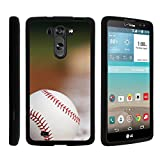 LG Vista Phone Case, Slim Hard Shell Snap On Case with Custom Images for LG G Vista D631, LG G Pro 2 VS880 by MINITURTLE - Baseball Blur