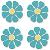 Embellish Your Story Teal Daisy Magnets