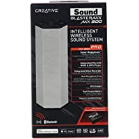 Creative Labs Sound Blaster AXX 200 Intelligent Wireless Sound System - Portable Wireless Speaker / PA System with Bluetooth, NFC and Microphone