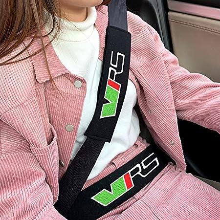 Mlzaq Auto-Sicherheits-Sicherheitsgurt Pads Geschirre Sicherheit Schultergurt Kissenbezug Schulter-Abdeckung for Skoda Octavia VRS Fabia Schnelle Superb Color Name : 26cm