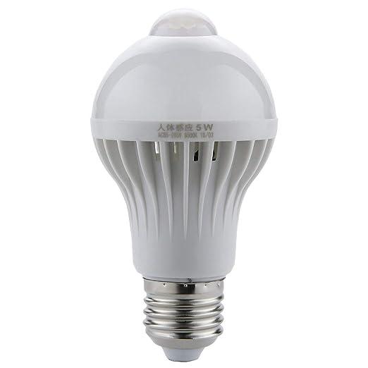 Funnyrunstore LED PIR Sensor de movimiento de la lámpara 220V LED Bulbo Auto inteligente inteligente PIR