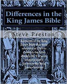 Differences in the King James Bible: Baskerville Version Limitations