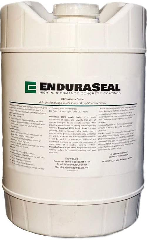 EnduraSeal Concrete Sealer