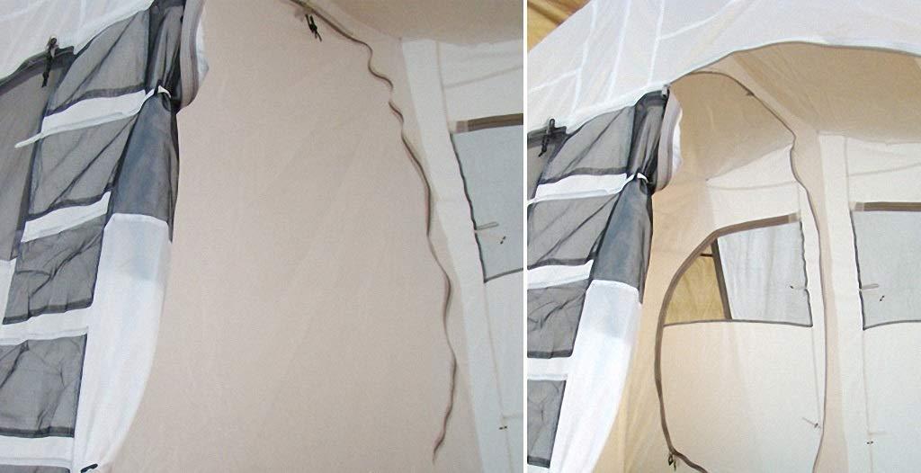 Dceer Outdoor-Zelt, Zwei-Zimmer-Zweilagen-Anti-Exposition-Campingzelt mit mit mit Zwei Schlafzimmern für eine Person B07PBTVHGW Zelte Ästhetisches Aussehen 6d8b29