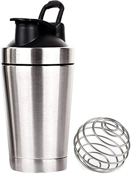 DUDDP Botella de Agua para Deportes Shaker Bottle Mezclador ...