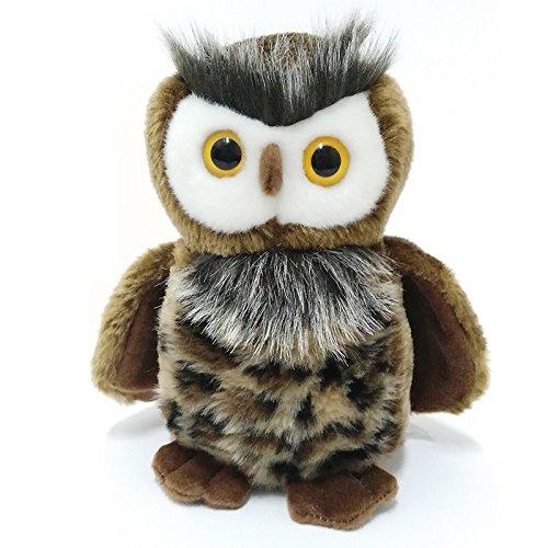 Lazada Realistic Plush Owl Stuffed Wild Animal Toys Cool Gifts 8