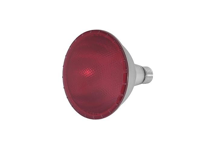 Set di 5 x led lampade par 38 230 v 15 w attacco e 27 rosso
