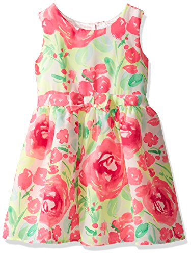 The Children's Place Baby Toddler Girls' Sleeveless Casual Dresses, Neon Berry 6195, 5T