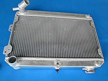 FANS FOR MAZDA RX7 SERIES 1 2 3 S1 S2 S3 SA//FB MT 1979-1985 ALUMINUM RADIATOR