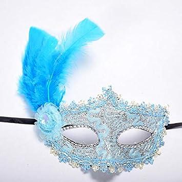 Amazon.com: 1 máscara de encaje veneciano sexy para mujer ...