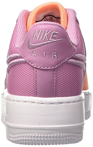 Nike Wmns Af1 Low Upstep Br, Entrenadores para Mujer Multicolor (Orchid/white/sunset Glow/glacier Blue)