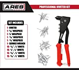 ARES 70017 - Professional Pop Rivet Gun with 60