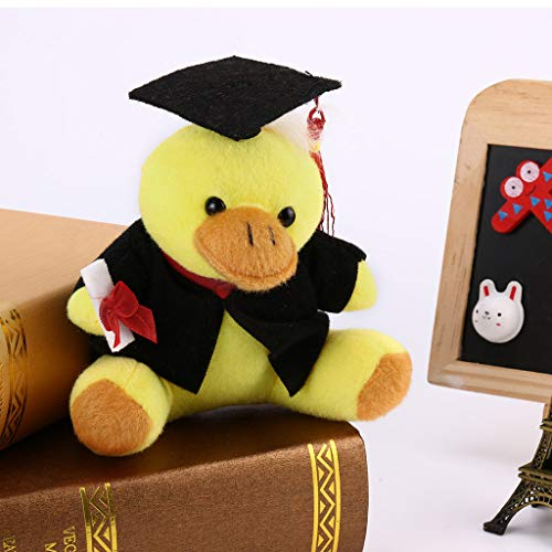 DealinM  Graduation Season Gift,Gifts for You Now Class of 2019 Plush Graduation Toy with Cap and Gown Plush Toy