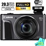 Canon PowerShot SX720 HS 24mm WIDE 40x Zoom Point & Shoot Digital Camera (WiFi Enabled, NFC Enabled) + Prime Seller Microfiber Cloth