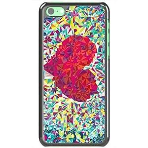 Apple iPhone 5C Case EMO Love love heat Love Black
