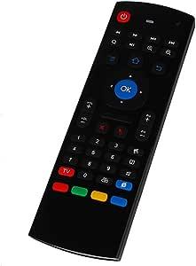 Zenoplige Multifunción Mando a Distancia MX3 2.4G Air Ratón Mini Teclado Inalámbrico por Infrarrojos 3-Gyro 3-Gsensor USB para KODI/XBMC Android Smart TV Box Mini PC IPTV HTPC: Amazon.es: Electrónica