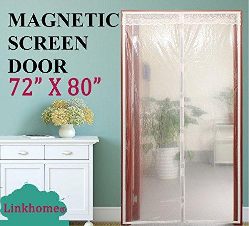 Transparent Magnetic Screen Door 72