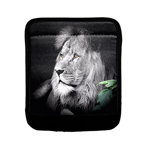Animal Lion Sitting Luggage Handle Wrap Finder
