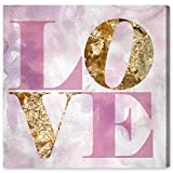 The Oliver Gal Artist Co. ''Love Pastel'' Canvas Art, 20'' x 20''