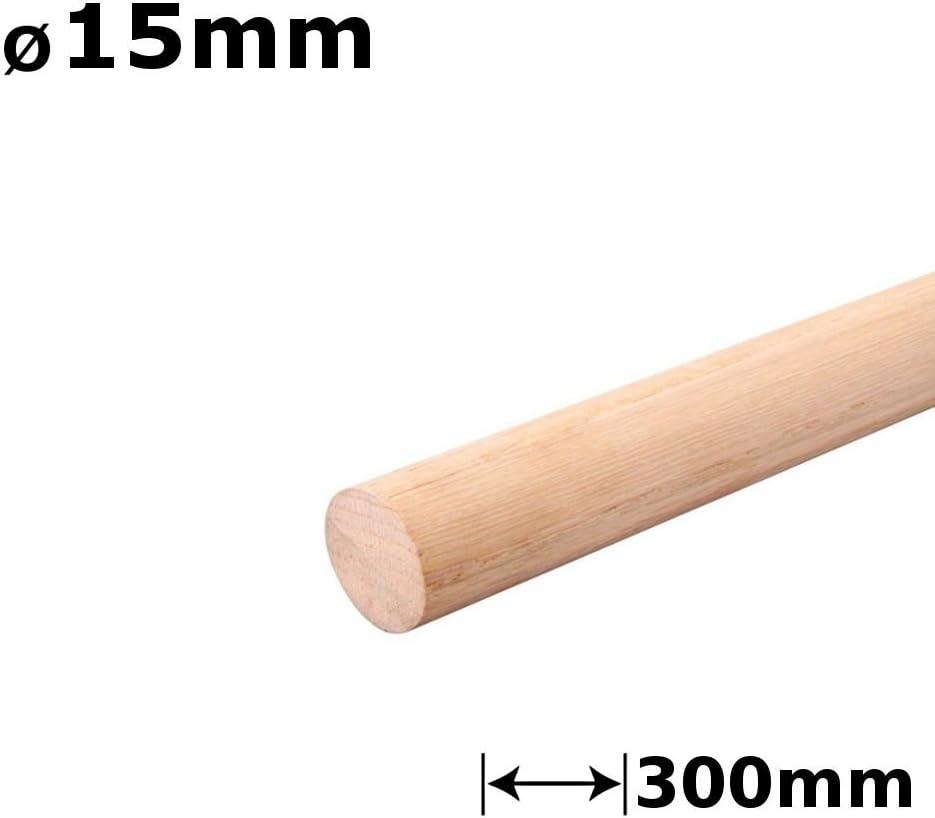 1/x tacos de madera clavijas en abedul/ 16/mm Di/ámetro /300/mm longitud
