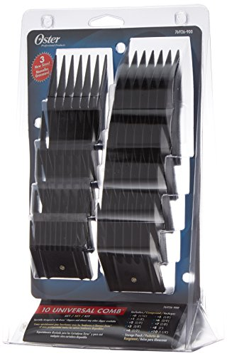 Oster 76926 - 900 - Set Attachment Combs for Hair Clipper, Pack of 10