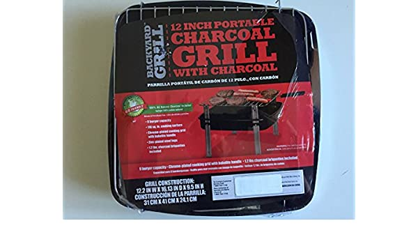 Amazon.com : Charcoal Grill Kit : Sports Fan Lawn And Garden ...