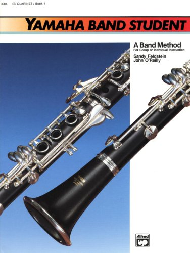 Alfred Yamaha banda Student Book 1Clarinete (en Si Bemol