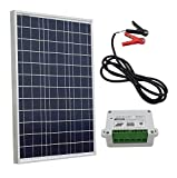 ECO-WORTHY 10w 20w 30w 50w Solar Panel Kit for 12V Battery Charging