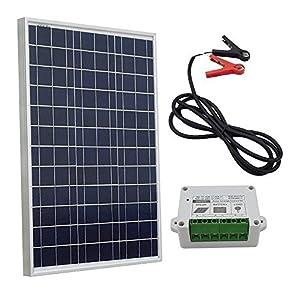 ECO-WORTHY 10w 20w 30w 50w Solar Panel Kit for 12V Battery Charging by ECO-WORTHY