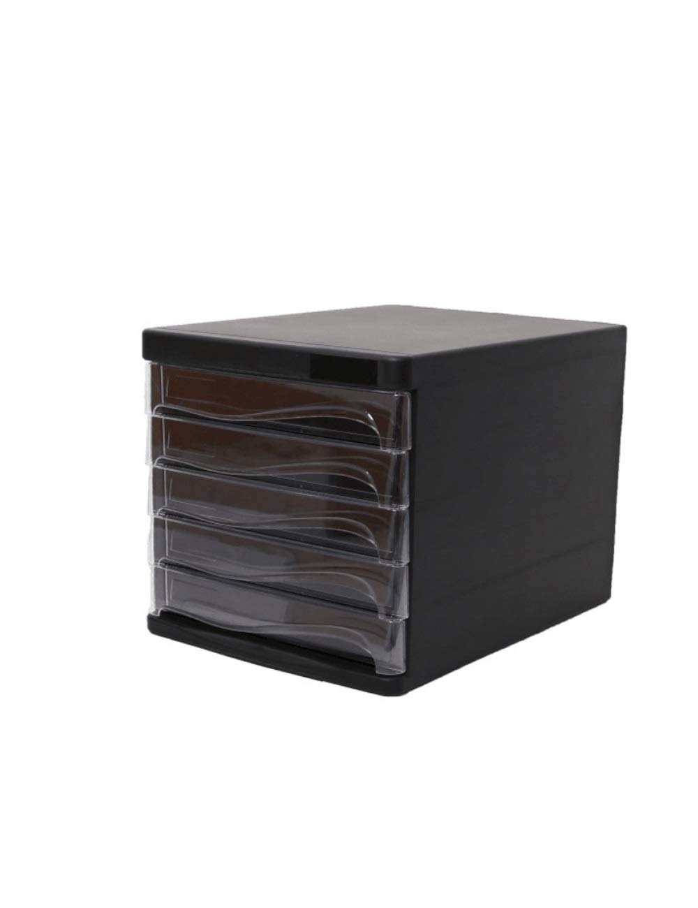 File Cabinet Office Desktop A4 Plastic Data Cabinet Drawer Desktop Cabinet File Storage Cabinet Storage Box (Design: 5 Drawers) Filing cabinets (Color : B)