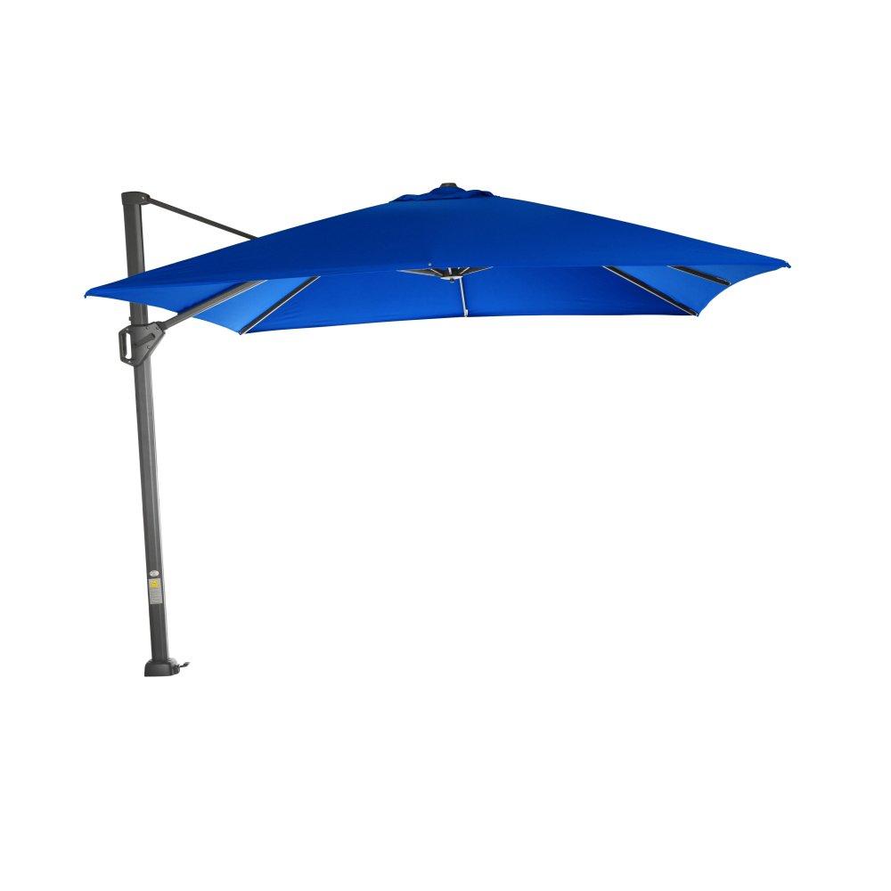 Siena Garden D37254 Sunset Ampelschirm, Blau, 300 x 300 x 255 cm
